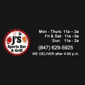 J's Sports Bar & Grill – 02/25/17